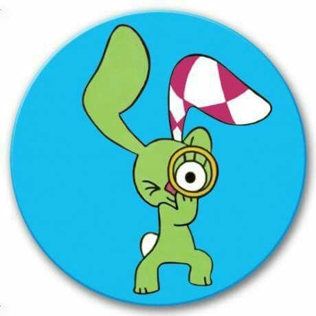 Kockás fülű nyuszi