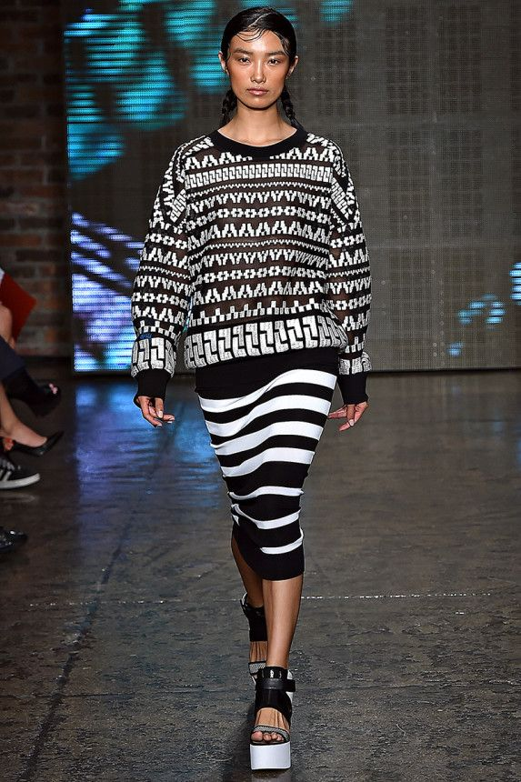 DKNY Spring 2015 RTW – Runway – Vogue