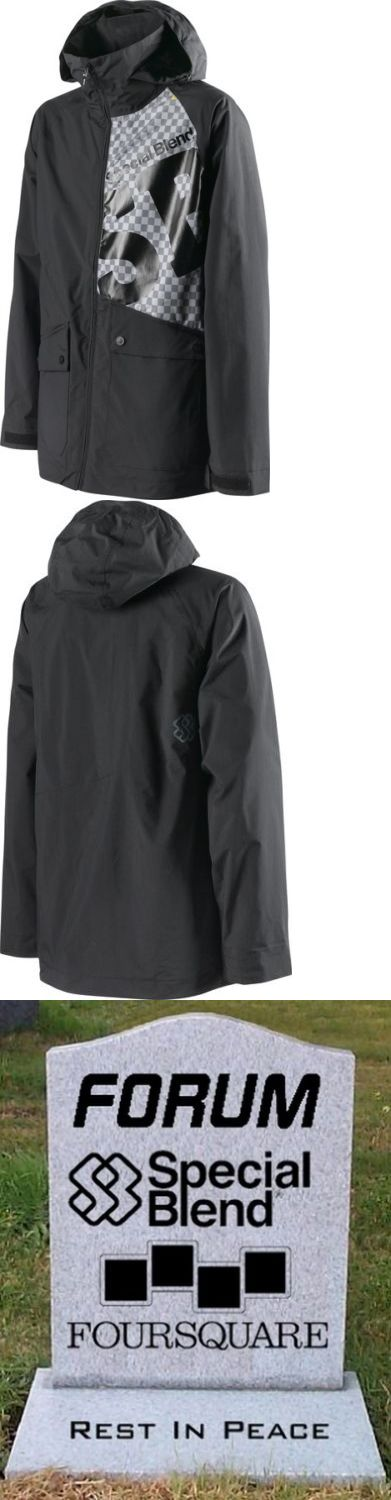 Other Snowboarding 159155: Special Blend Snowboard Mens Beacon Jacket Blackout Large Brand New With Tags -> BUY IT NOW ONLY: $79.99 on eBay!