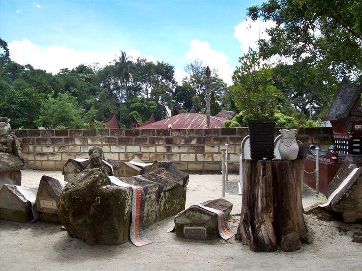 Sacred tomb, samosir island, Sumatra