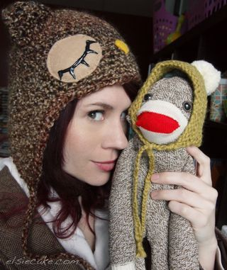 Handmade Sock Monkey: Diy Ideas, Handmade Socks, Sock Monkeys, Diy Crafts, Socks Monkey Elsie, Diy Socks Monkey, Monkey Diy, Socks Diy, Monkey Bday