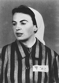 """Orli Wald was a member of the German Resistance in Nazi Germany. She was arrested in 1936 and charged with high treason, whereupon she served four and a half years in a women's prison, followed by """"protective custody"""" in Nazi concentration camps until 1945, when she escaped. She was a prisoner functionary in the infirmary at Auschwitz-Birkenau and because of her helpfulness to Jewish and other prisoners, was called the """"Angel of Auschwitz"""".: Angel, Auschwitz Birkenau, High Treason, Prison Functionari, Women Prison, Concentration Camps, German Resistance, Nazi Concentration, Half Years"""