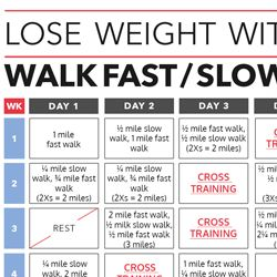 Walk your way to weight loss with this 6-week fitness plan!