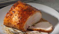 kathimerini.gr   Μπούτι χοιρινό με μέλι στον φούρνο