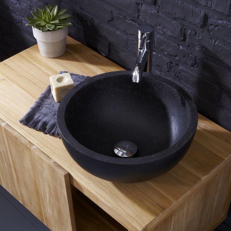 Isis terrazzo washbasin - Round shaped washbowls sale at Tikamoon