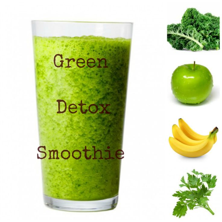 This GREEN DETOX SMOOTHIE recipe is the perfect way to remove sugar, fat and processed ingredients from your breakfast. CLICK HERE to get the recipe. There are only 4 ingredients in this smoothie, all of which can easily be tossed in your blender. This is truly the BEST green detox smoothie.