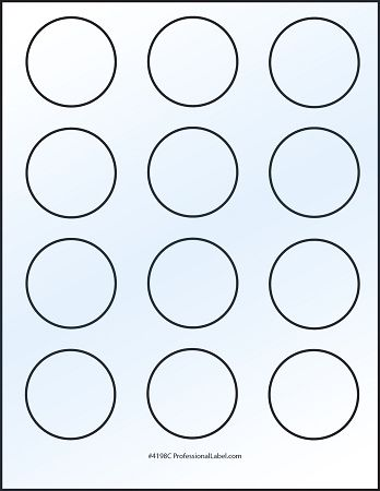 Free Printable 2 Inch Round Label Template