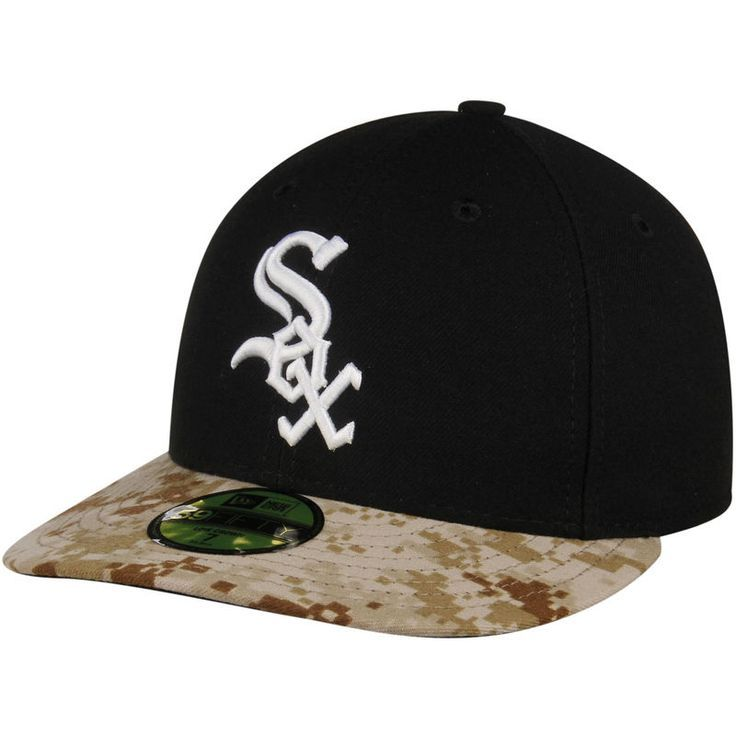 Chicago White Sox New Era Memorial Day Stars   Stripes On-Field 59FIFTY  Fitted Hat - Black Camo c1e087f8293