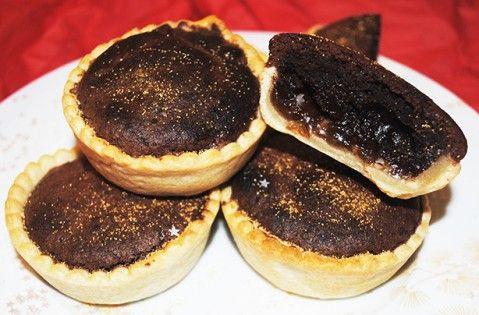 Chocolate orange brownie mince pies recipe - goodtoknow