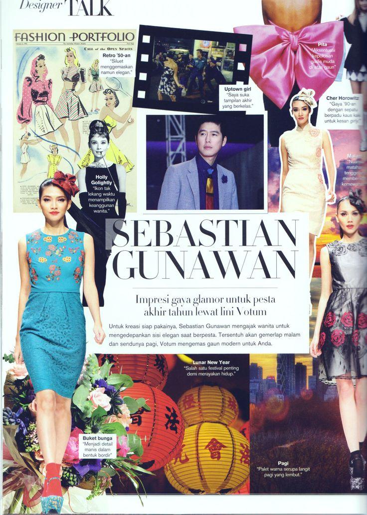 VOTUM in Harper's Bazaar Indonesia December 2013 - Designer Talk