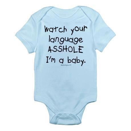 :)Amazing, Potty Mouth, Asshole, Personalized Gifts, Future Child, Art, Ahahahaha, Too Funny, Funny Babies