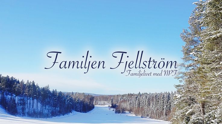 Vi är familjen Fjellström och jag är frun och mamman i huset. Vi består av två föräldrar och fyra barn, två av barnen har funktionshinder så som ADHD, hjärtf...
