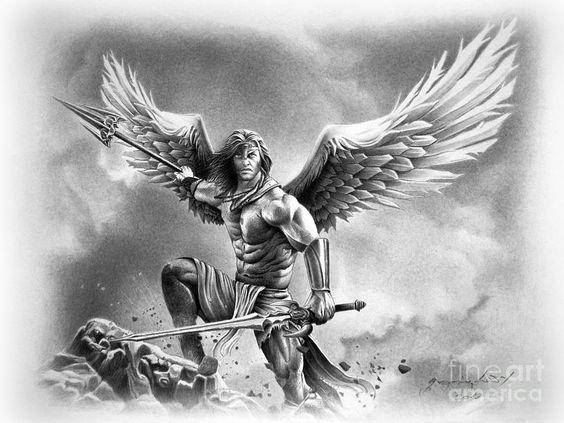 angel-warrior-miro-gradinscak.jpg (900×676) | Angel ...