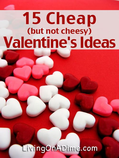 15 cheap valentines day ideas have fun and save money - Cheap Valentine Gifts