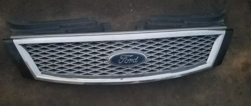 05 06 FORD 500 FIVE HUNDRED FRONT GRILL GRILLE ASSEMBLY W/UPPER PANEL #NT1214
