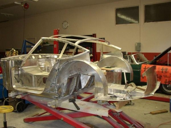 This specific project is a Toyota 2000GT (Only ~350 were built from 1967-70). Shin decided to make his own all aluminum body from scratch that was identical in shape to an original body. The amount of work and skill involved in doing this is nearly unmeasurable. I hope you enjoy today's project as much as I do, because it is a very rare art.