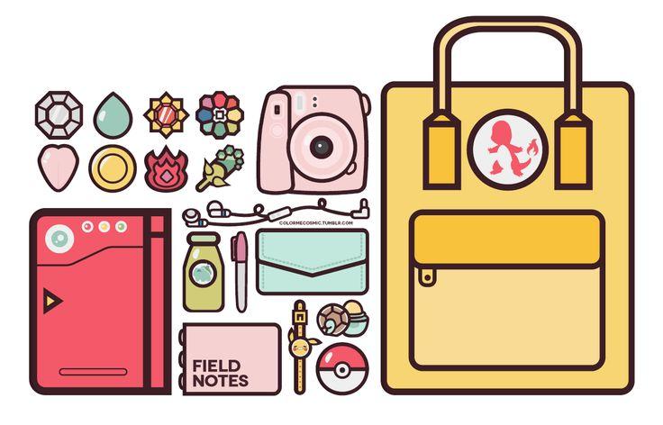 pokemon go travel pack necessities ✨
