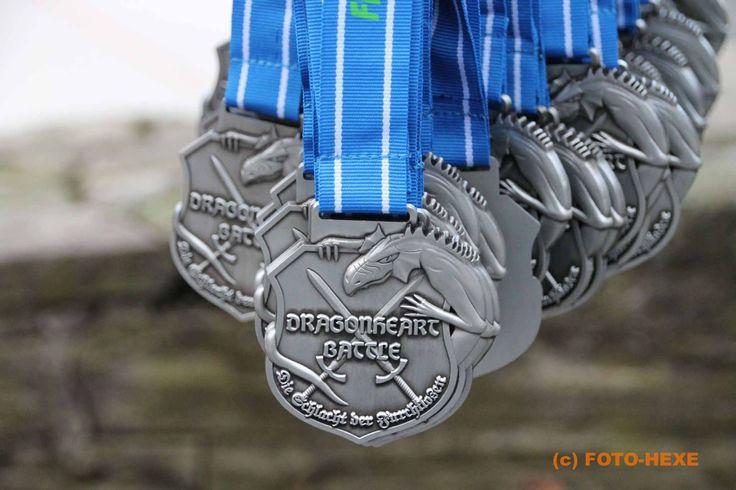 Hindernislauf Dragonheart Battle 2016 Medaille