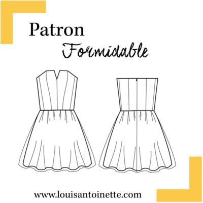 Louis Antoinette - robe Formidable - patron pochette : 15,90€