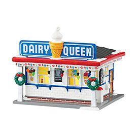 """Department 56 - Snow Village - """"Dairy Queen®"""" - #404485 - Intro: Jan 2015 - $95 USD"""