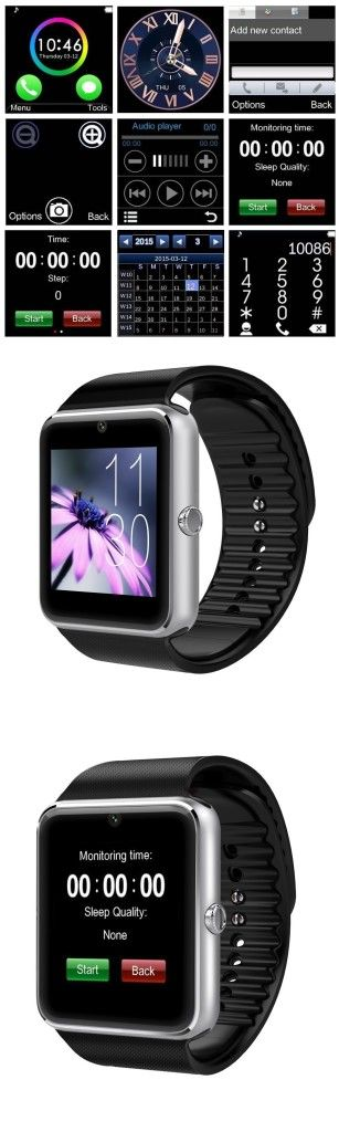 AirsspuTM Bluetooth Smart Watch Great Value For the Price!!