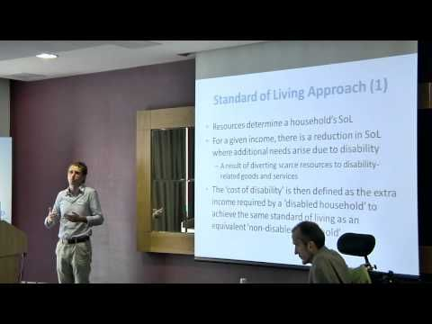 04 Dr John Cullinan, NUI Galway - The direct and indirect costs of disability - YouTube