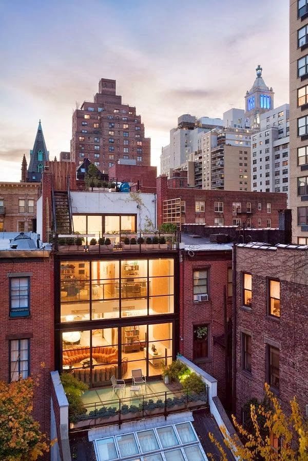 Modern Architecture With Rooftop Gardens pinning this again because oh my god