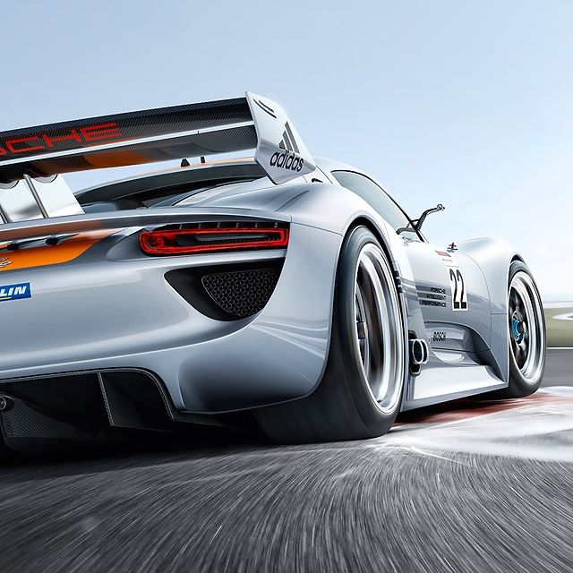 Porsche 918 Racing...saw this and had to share...this is prob my fave car at the moment in Real Racing 3.