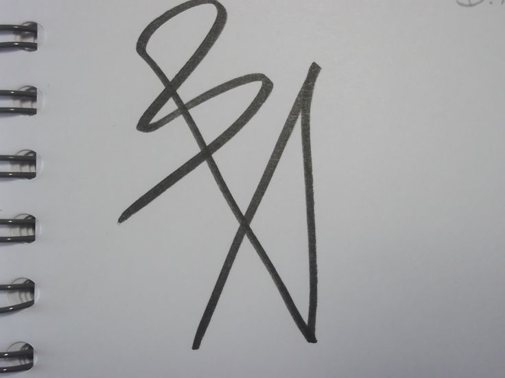 "One-line signature for ""B.A."""