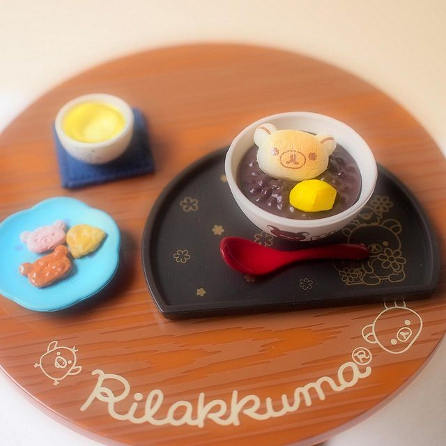 Re-ment Rilakkuma Japanese Cafe