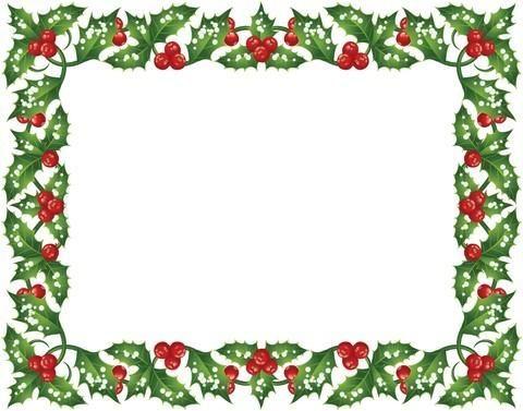 stylish green red printable border design