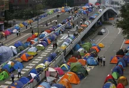 Hongkongské studentské hnutí zvažuje ukončení demonstrací - FinančníNoviny.cz