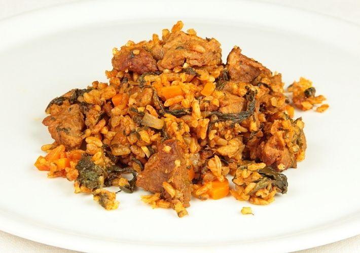 Recette rouz jerbi de la cuisine tunisienne tunisian for Cuisine tunisienne