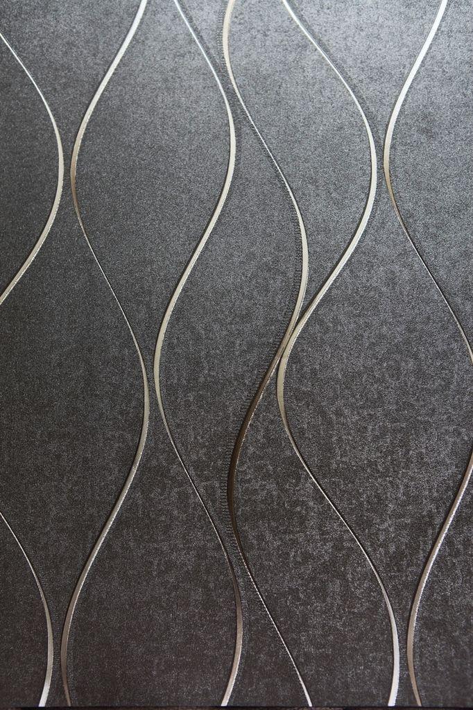 17 mejores ideas sobre papel tapiz gris en pinterest for Papel pintado azul y plata