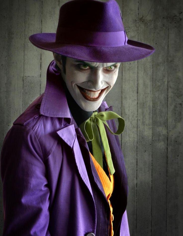 Character: Joker / From: DC Comics 'Batman' & 'Detective Comics' / Cosplayer: Anthony Misiano (aka Harley's Joker) (2015)