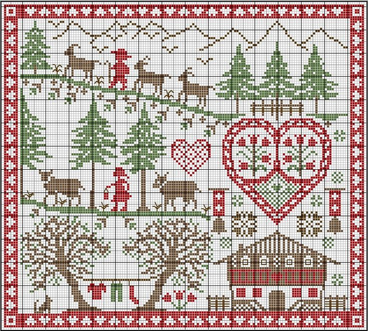 She has so many really great FREE counted cross stitch patterns. THIS SITE IS WONDERFUL!