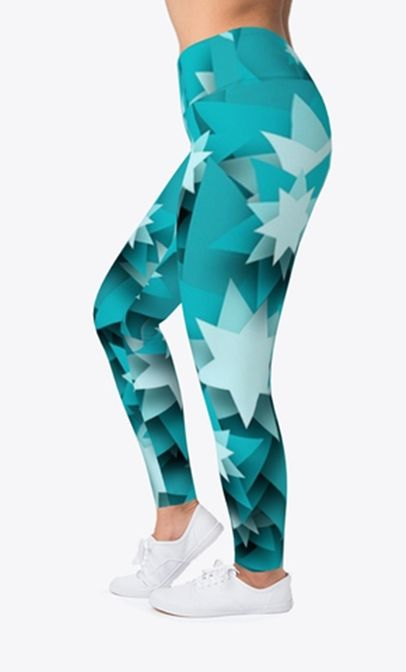 944044b264aa2d Christmas Star Leggings will make you feel like celebrating. These superior  quality Holiday leggings are ideal for the festive season with amazing  Christmas ...