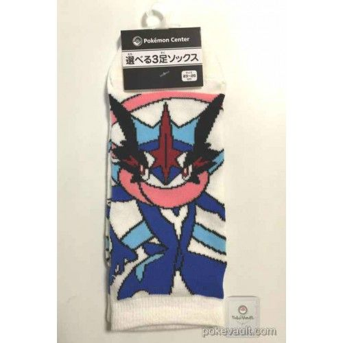 Pokemon Center 2016 Ash's Greninja Adult Short Socks