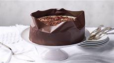 Dort zabalený do čokolády