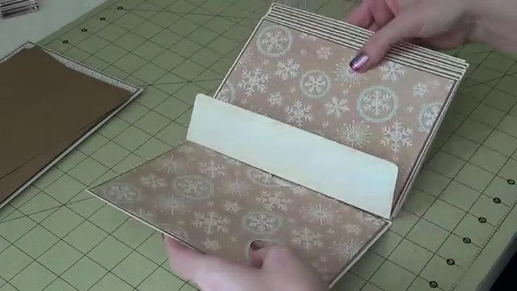 5x7 Envelope Mini Album - Part 3 - Assembly