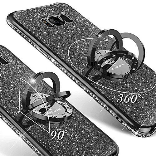 For Samsung Galaxy S8 Plus Case for Girl Women Diamond Ring Stand Slim New #OCYCLONE