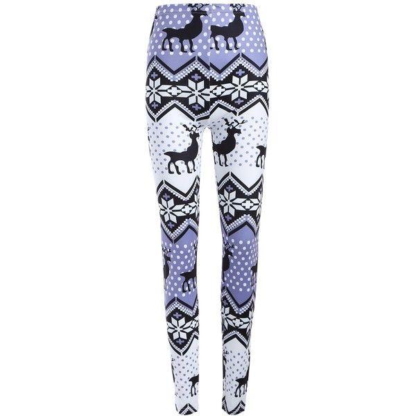 Plus Size Ornate Elk Print Christmas Leggings ($11) ❤ liked on Polyvore featuring pants, leggings, women's plus size pants, patterned trousers, patterned leggings, plus size trousers and legging pants