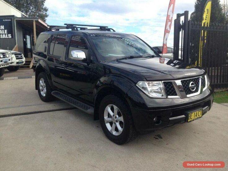 2010 Nissan Pathfinder R51 Series 4 ST-L (4x4) Black Automatic 5sp A Wagon #nissan #pathfinder #forsale #australia