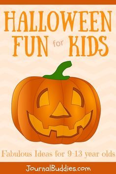 Whether you're an upper elementary or middle school teacher, or you're a parent of a tween who wants to add an extra dose of frights in this year, these fun Halloween ideas will help you make this the best Halloween yet. via @journalbuddies