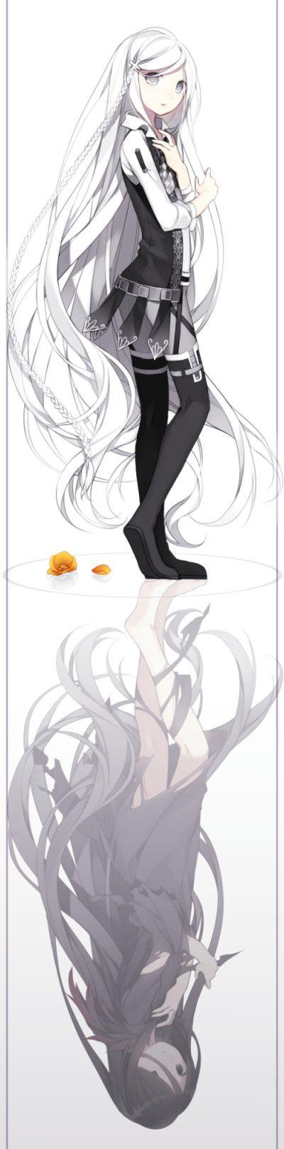70 君を映す鏡 p站 二次元 原创 插画 壁纸 少女 倒影 - 堆糖 发现生活_收集美好_分享图片