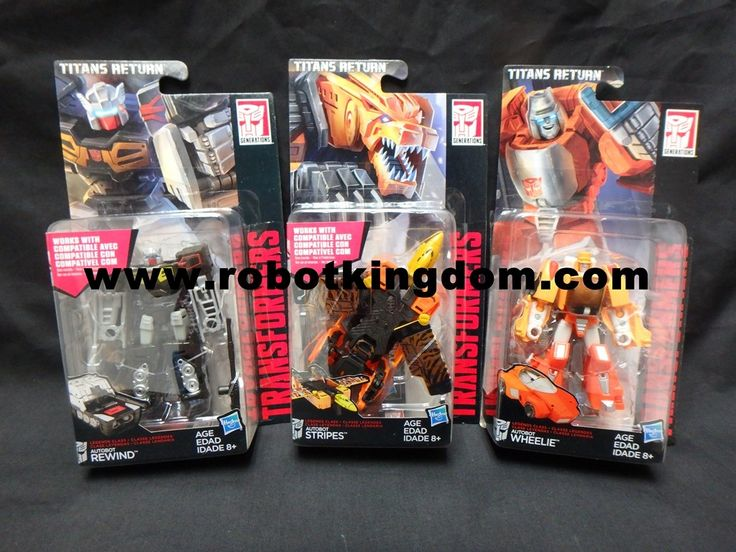 Generations 2016 Legend Titans Return Wave 1 set of 3. Available Now!!