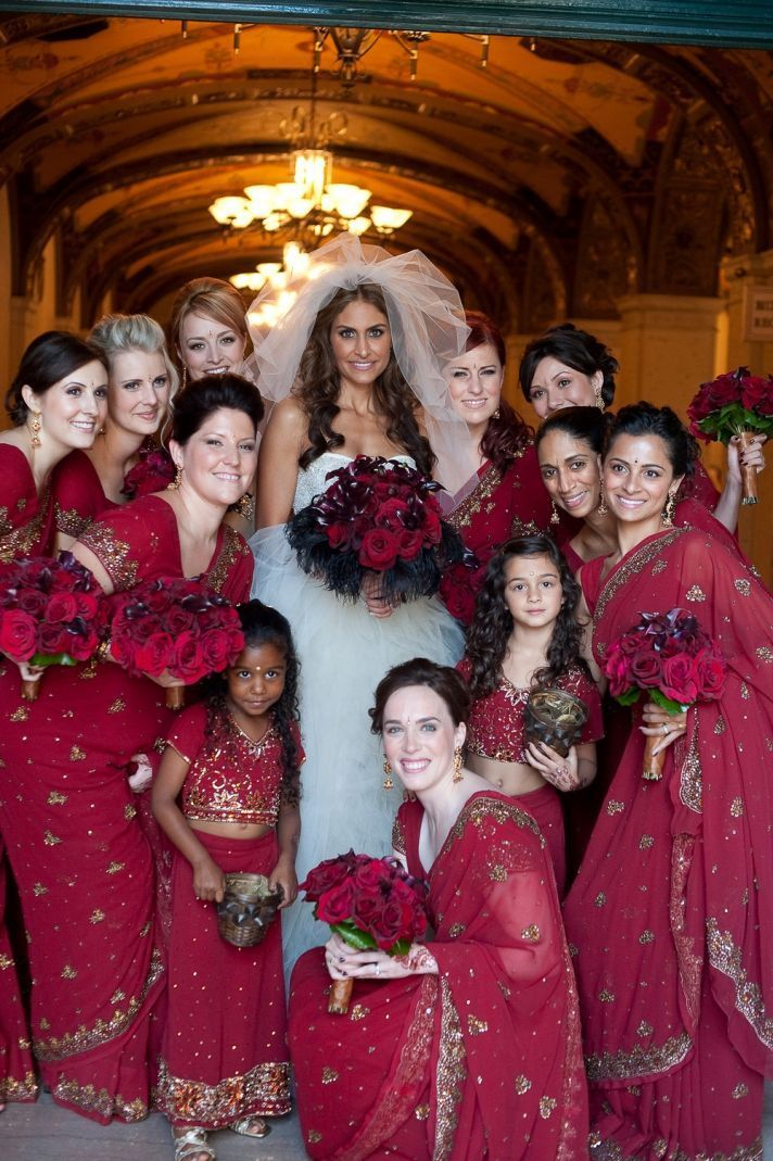 arab/ indian brides maids dresses | Traditional Indian bridesmaid dresses