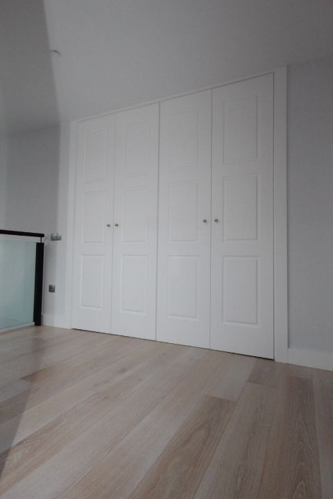 Las puertas lacadas en blanco son la tendencia de la - Puertas lacadas en blanco ...