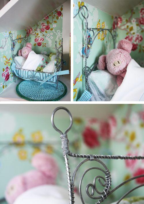 En liten säng!