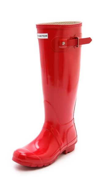 Hunter Boots Hunter Original Gloss Rain Boots... I bought the shot ones and love love love them!
